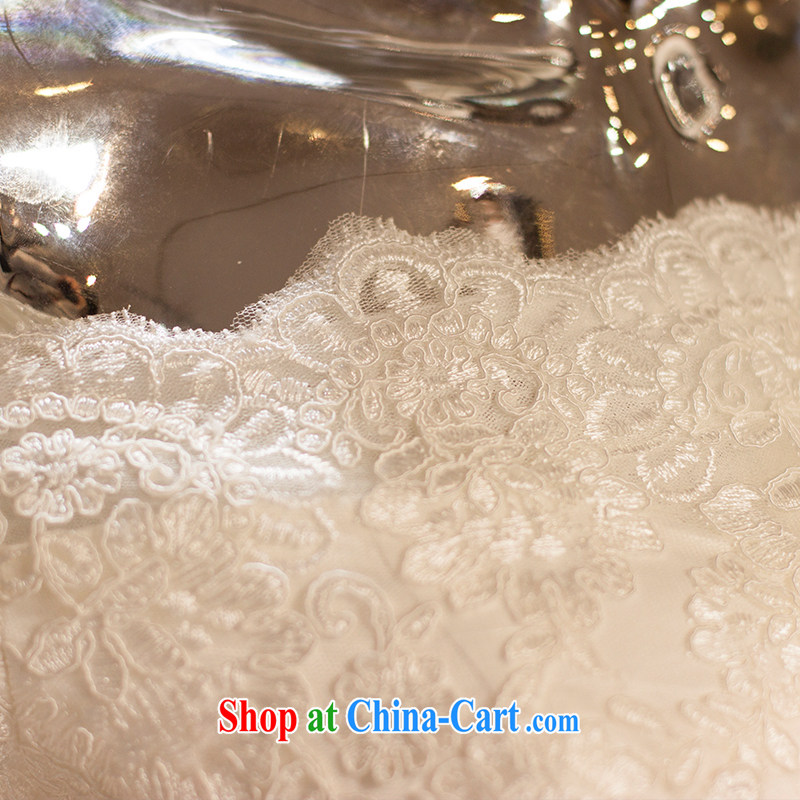 On the wedding dresses summer 2015 new spirit Creek Korean lace long-tail field shoulder wedding beauty with M, AIDS, and shopping on the Internet