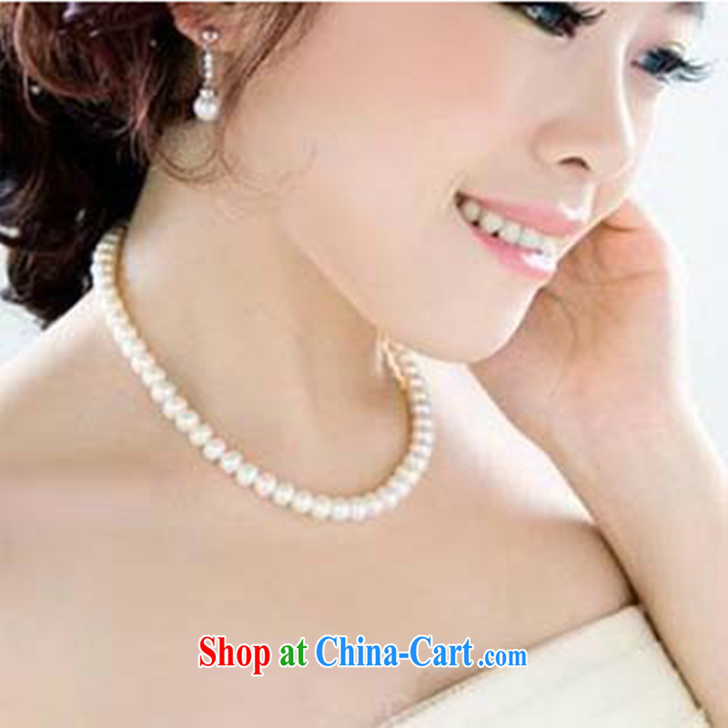 Leigh impression bridal wedding jewelry the pearl necklaces female Korean decorations explosions, short accessories XL 99 white