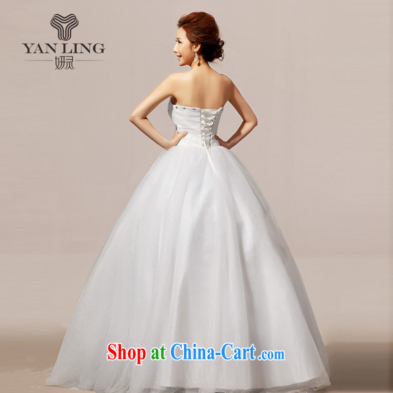 Her spirit 2015 new wedding dresses wedding erase chest Korean wedding dresses sweet HS L 239, her spirit, and on-line shopping