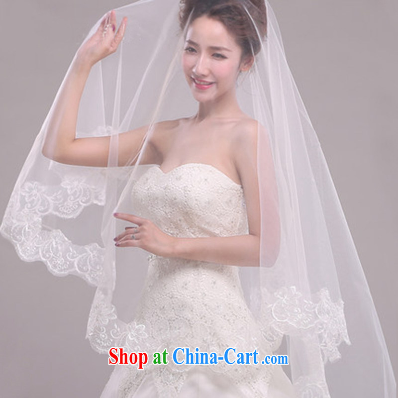 2015 new accessories wedding dresses Princess bride head yarn bridal accessories white