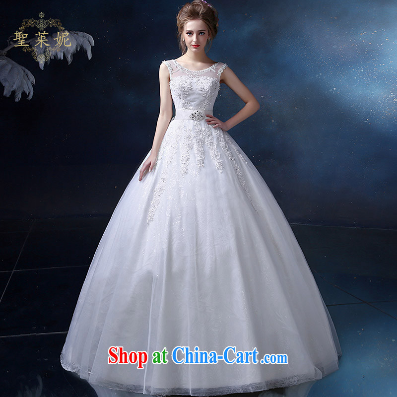 Holy, Connie wedding dresses 2015 summer new dual-shoulder the code high-waist graphics thin, white wedding dresses and stylish custom white M