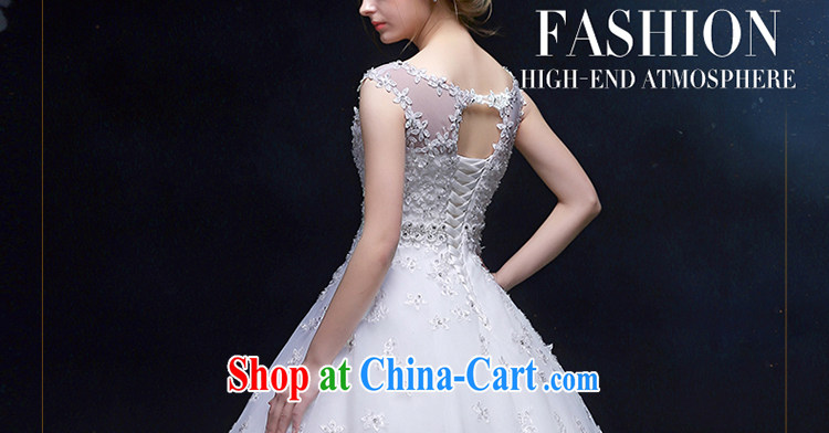 Holy, Connie wedding dresses 2015 new continental style shoulders A Field dress lace flowers, white wedding wedding dresses white M pictures, price, brand platters! Elections are good character, the national distribution, so why buy now enjoy more preferential! Health