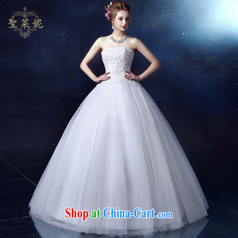 Holy, Connie wedding dresses Korean sweet Princess classic wiped his chest, marriages wedding dresses video thin, large, custom white XL