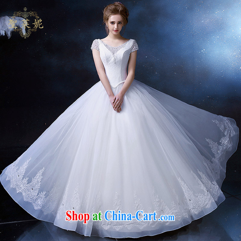 Holy, Connie wedding dresses 2015 continental retro Princess skirt the Code, custom bridal flowers dress up wedding dresses white M