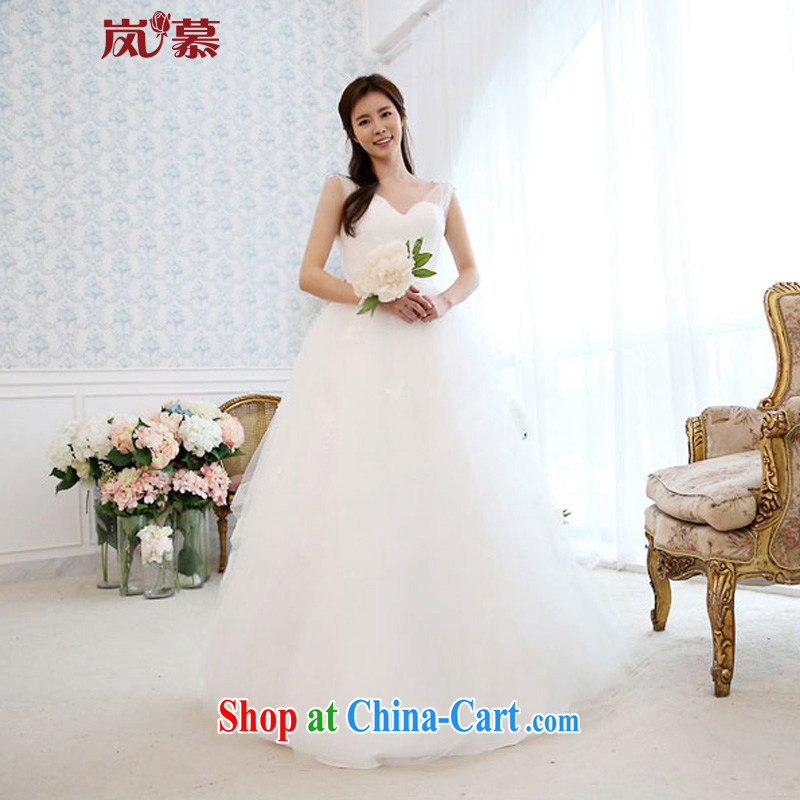 Would the new 2015 original design double-shoulder the shaggy dress with multi-storey stylish skirt with bridal wedding white XL (chest 95/waist 79)