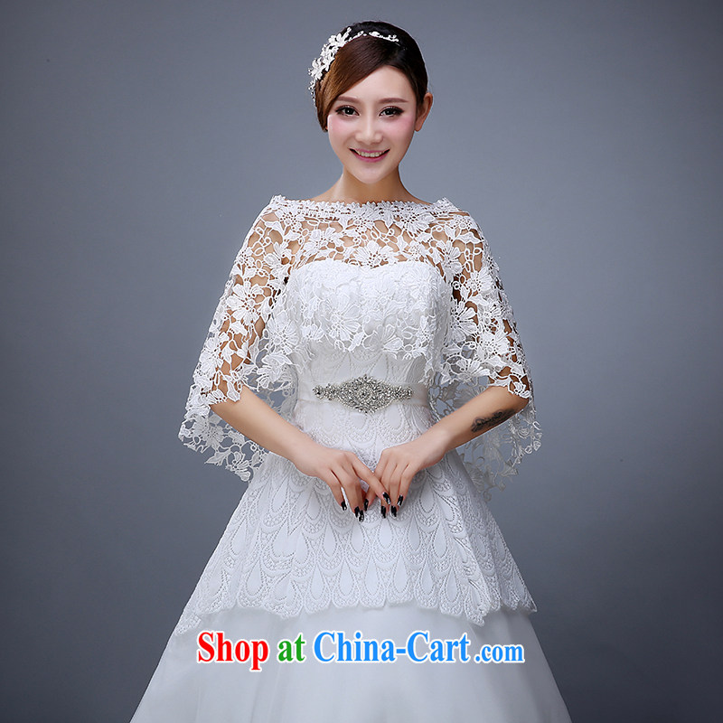 Summer 2015 New Products lace shawl wedding dresses shawls lace white wedding shawl female white
