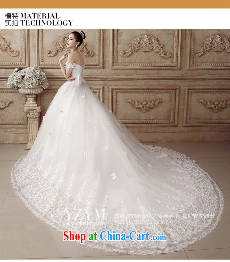 The drunken Yi Mei bridal wedding dresses a shoulder-tail wedding lace drilling 2015 cultivating Korean video thin large code summer wedding luxury with bridal wedding with S pictures, price, brand platters! Elections are good character, the national distribution, so why buy now enjoy more preferential! Health
