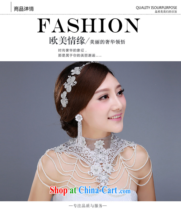 New bridal jewelry 3 piece set with crystal diamond shoulder link hair accessories earrings and jewelry wedding jewelry wedding dresses accessories hair accessories pictures, price, brand platters! Elections are good character, the national distribution, so why buy now enjoy more preferential! Health