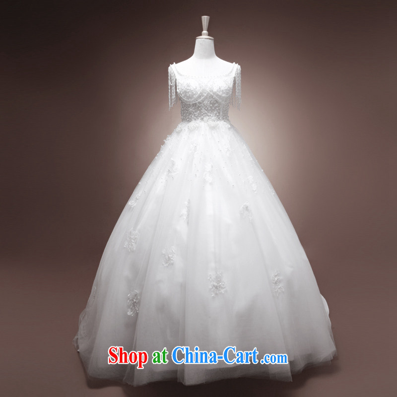 The drunken Yi Mei bridal wedding dresses new 2015 summer stylish Korean Lee small opportunity with stars, bridal suite luxurious tail custom larger pregnant women wedding minimalist (in cultivating waist) custom