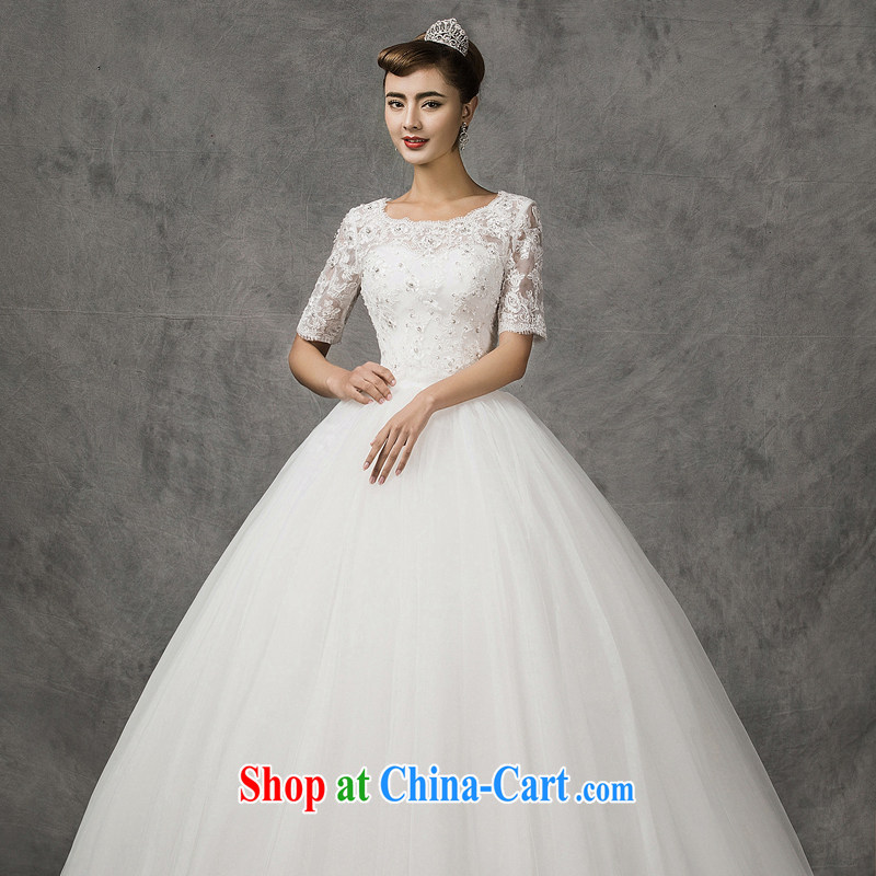 The drunk, the American wedding dresses new erase chest bridal wedding package, 20,151 more through wedding spring field shoulder long-sleeved wedding, thick mm round collar cuff small jacket + the skirt custom