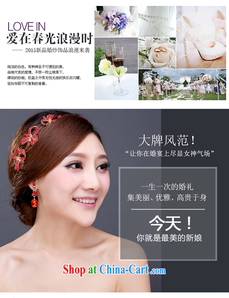 Bridal headdress earrings Korean marriage earrings Crown hair accessories kit wedding accessories wedding jewelry hair accessories pictures, price, brand platters! Elections are good character, the national distribution, so why buy now enjoy more preferential! Health