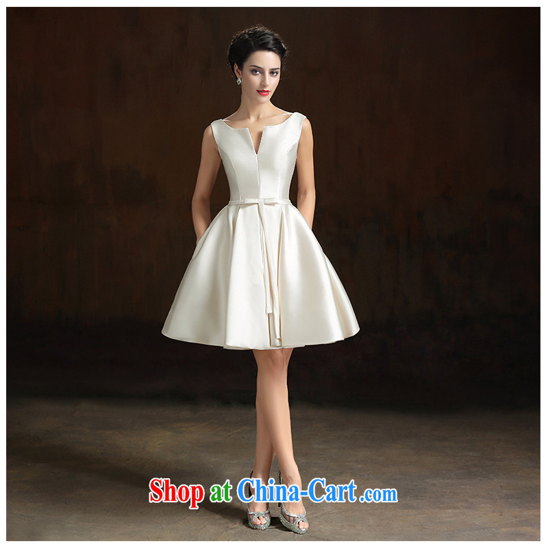 The beautiful yarn 2015 summer New Field shoulder strap large shaggy dress bridal bridesmaid skirts multi-color optional improved daily two through factory direct champagne color customizable