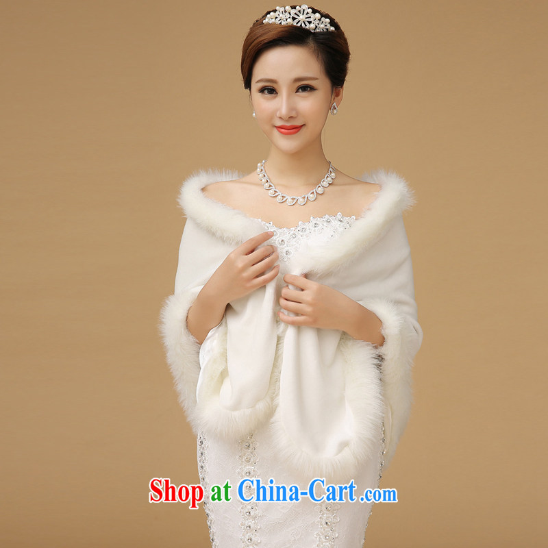 Up to Van Gogh's wedding dresses shawls winter new winter, capes, bridal hair shawl white shoulder width less than 42