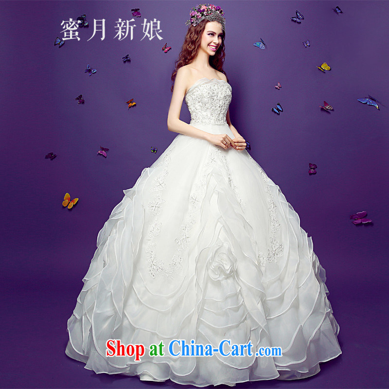 Honeymoon bridal field shoulder brides with wedding dresses summer 2015 new retro graphics thin pregnant summer wedding wiped his chest, made 528 million