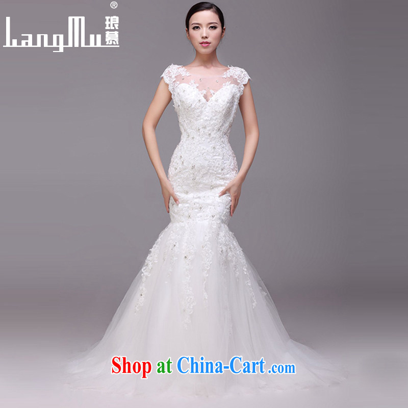 In Luang Prabang in 2015 of new, wedding dresses stylish terrace back crowsfoot double-shoulder bridal wedding custom white advanced customization