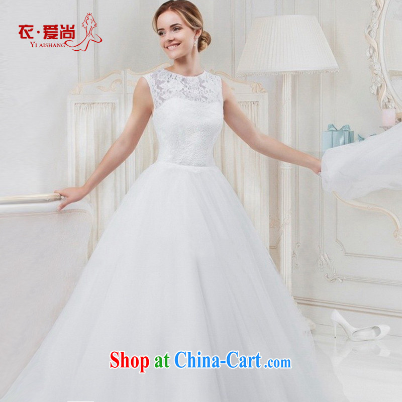 wedding dresses 2015 summer new and stylish brides field shoulder simplicity with small tails, wedding dresses female white to make the $30 do not return