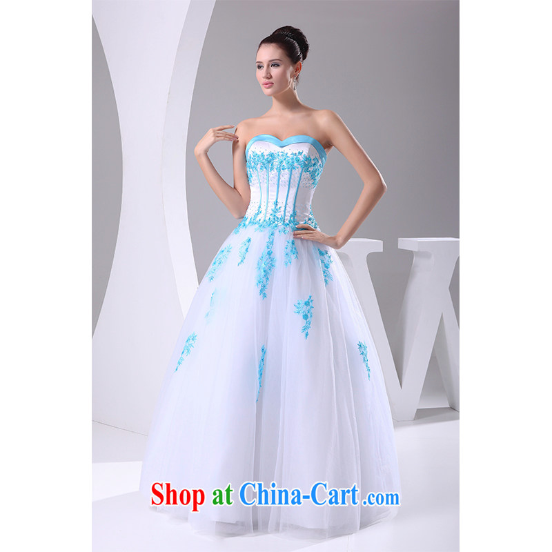 The beautiful yarn bare chest A field is heart-shaped with bridal suite 2015 New Beauty tie-down graphics thin bridal wedding dresses factory direct made white customizable