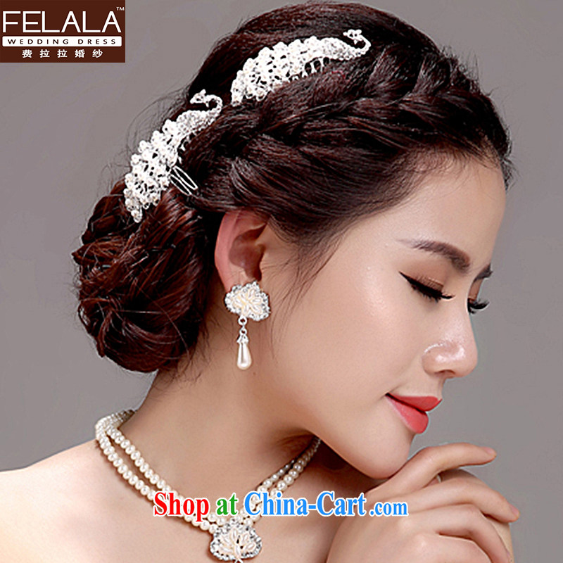 Ferrara 2015 wedding ceremony dress, garlands and ornaments necklace earrings set Fashion jewelry and ornaments Ear Ornaments necklace kit
