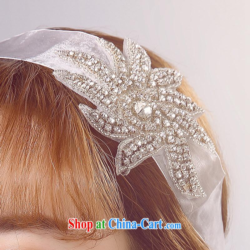 Ferrara 2015 new bride wedding head-dress, wedding accessories white jewelry shadow floor shooting supplies wedding dresses, La wedding (FELALA), shopping on the Internet