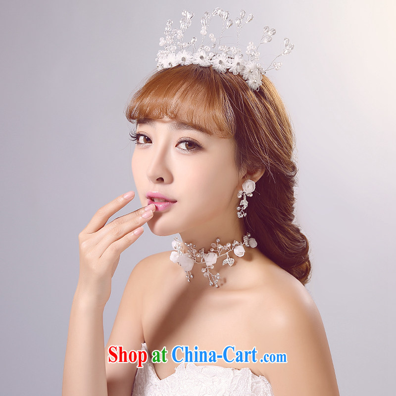 Ferrara 2015 new bride wedding head-dress, wedding accessories white jewelry shadow floor shooting supplies wedding dresses hair accessories