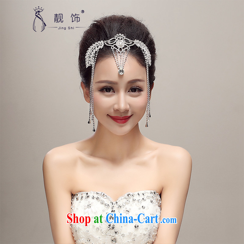 Beautiful ornaments 2015 new amounts jewelry bridal stream Su Crown wedding accessories accessories wedding jewelry white