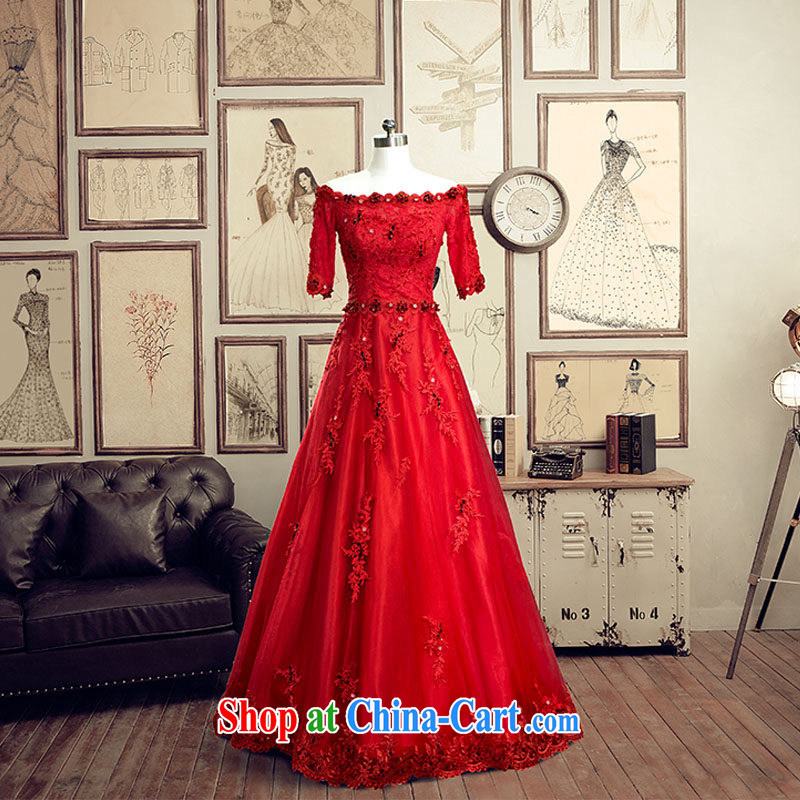 The bridal dress wedding dresses spring 2015 toast Service Bridal toast service summer 2584 marriage red tailored the 20%