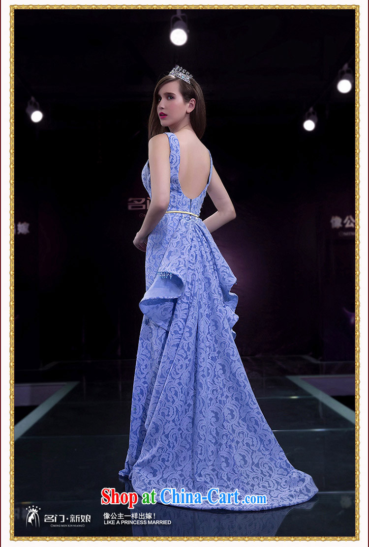 The Bridal Dress Wedding Dresses Spring 2017 At Merlion Small Blue Tail 2242 Purple Xl