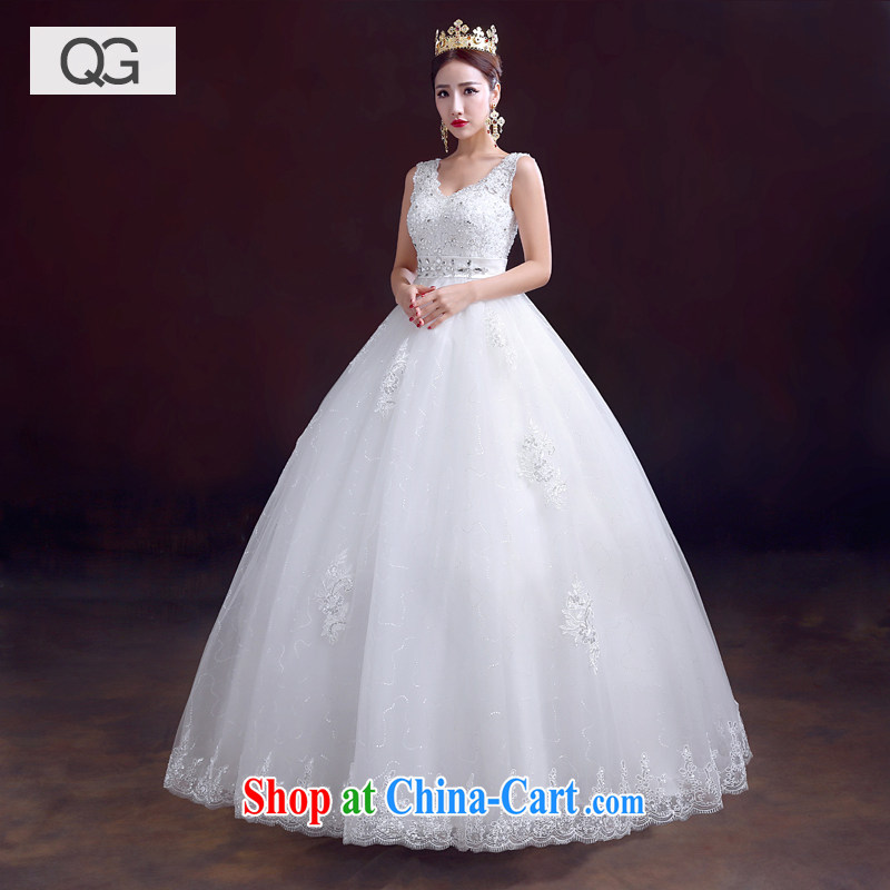 wedding dresses 2015 summer new bride's shoulders with high-waist pregnant wedding white XXL