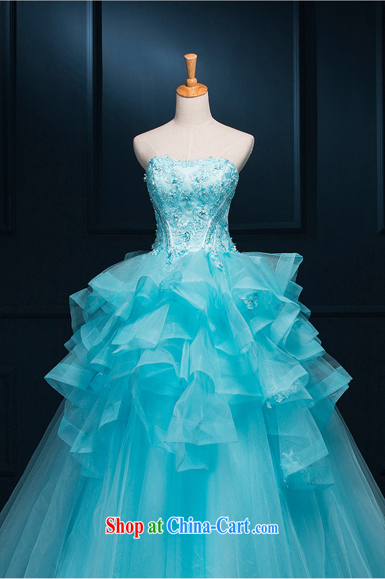 It is not the JUSERE high-end wedding dresses dream blue bridal ...