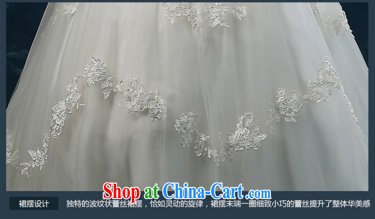 Wedding summer 2015 new dual-shoulder lace-tail wedding summer wedding dress bridal wedding, tie wedding white XXL (3 - 5 day shipping) pictures, price, brand platters! Elections are good character, the national distribution, so why buy now enjoy more preferential! Health