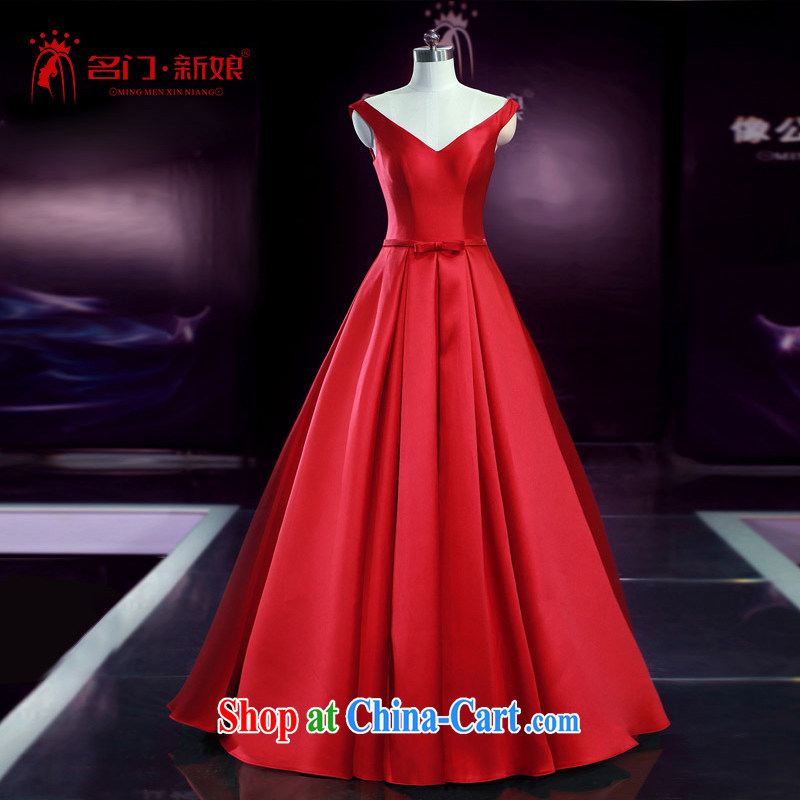 The bridal dress wedding dresses bridal toast serving summer bridesmaid service 2252 B XL paragraph