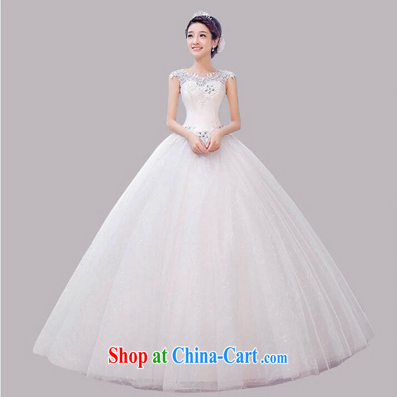 field shoulder shoulder wedding dresses new simple beautiful ...