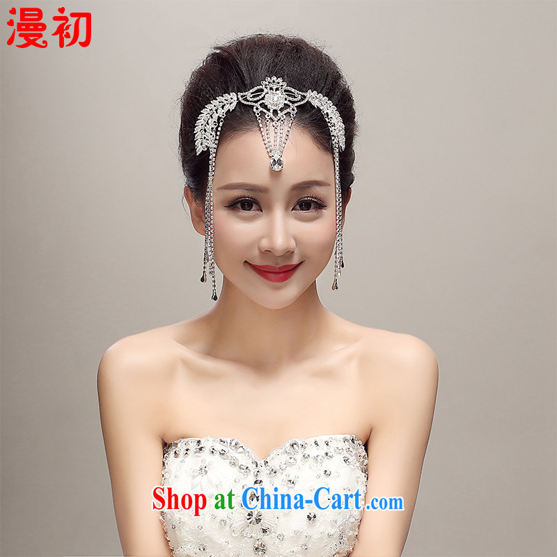 Early definition 2015 new bride's head-dress, amount, flow, Crown wedding dresses accessories wedding supplies white