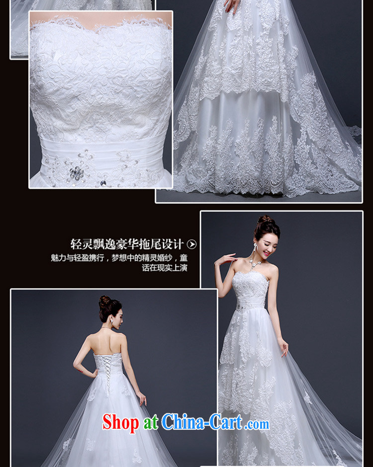 Sophie than AIDS summer 2015 new Korean wedding bridal wedding dress skirt ivory white wipe the chest binding code with long-tail cultivating larger graphics thin wedding female white XL pictures, price, brand platters! Elections are good character, the national distribution, so why buy now enjoy more preferential! Health