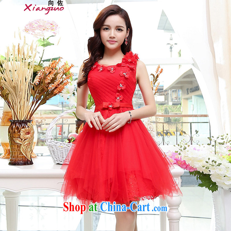 The 2015 Jordan dress shaggy dress dress new Korean fashion beauty graphics thin lace European root dress wedding dresses red XL