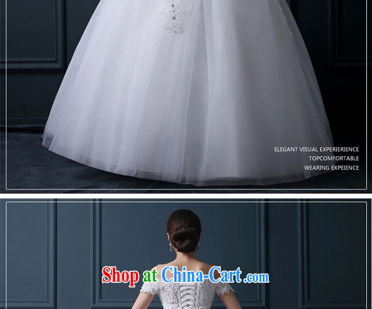 Zambia, a shoulder with wedding dresses 2015 new summer standard Custom Korean-style water drilling cultivating the waist lace Princess skirt white L pictures, price, brand platters! Elections are good character, the national distribution, so why buy now enjoy more preferential! Health