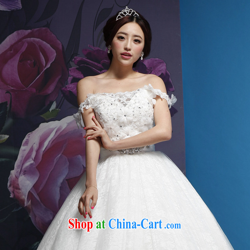 Wei Qi Crown new bride upscale water drilling wedding head-dress wedding accessories white Crown