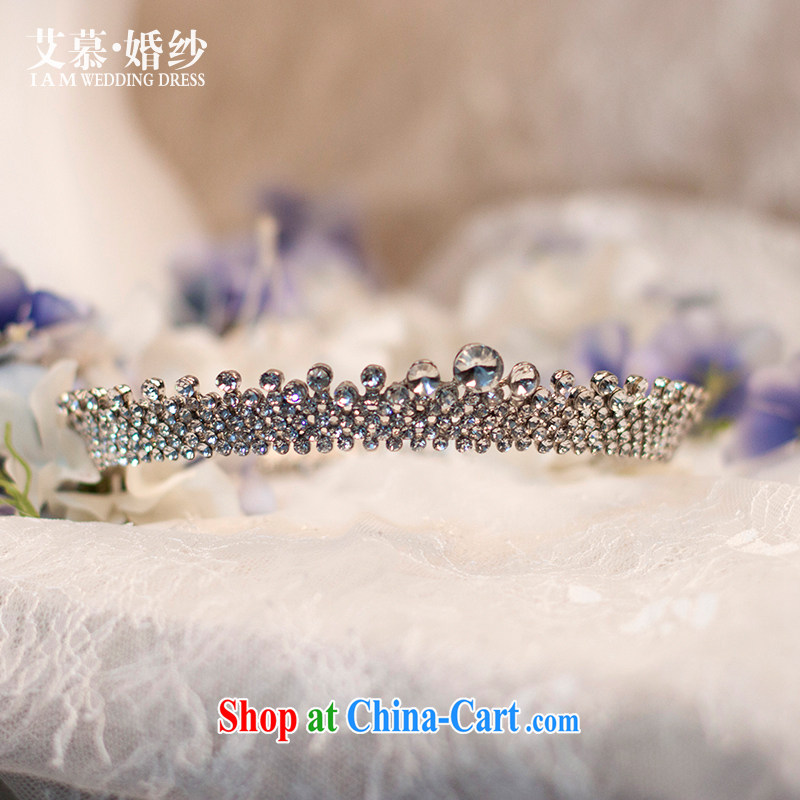 On the wedding dresses 2015 rain brilliant flash drill Crown Crown hair accessories wedding jewelry and ornaments