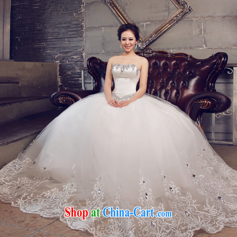 The Married Quarter -- wedding dresses Jimmy married arts 2015 new Korean version Mary Magdalene chest parquet water drilling 630 bridal wedding with S