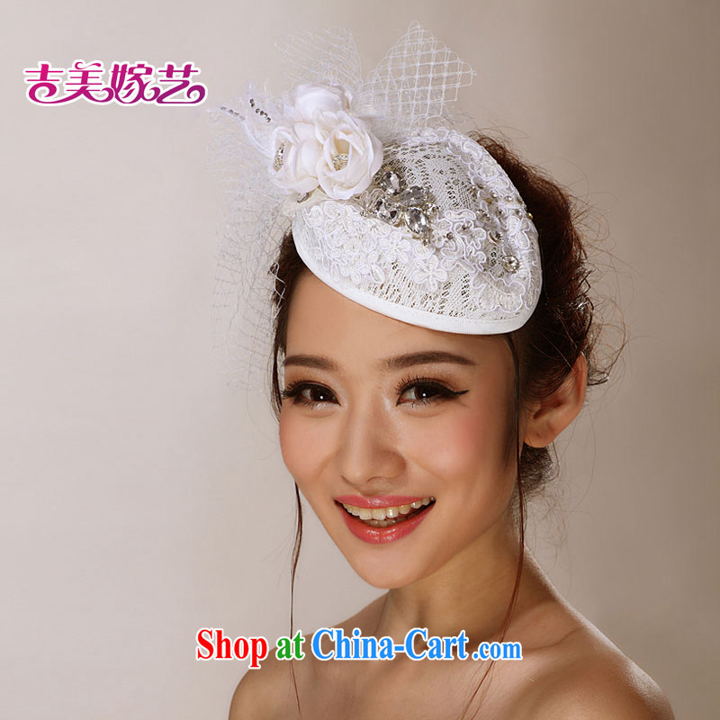 wedding dresses Jimmy married arts 2015 new accessories Won-the-head take TH 2061 bridal and flower white head-dress