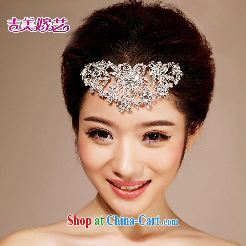 Bridal wedding dresses with Korean-style head-dress HG 6037 water drilling jewelry 2015 new marriage Crown white head-dress