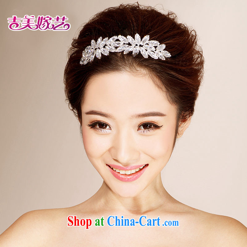 Bridal wedding dresses with Korean-style head-dress HG 6126 water drilling jewelry 2015 new marriage Crown white head-dress