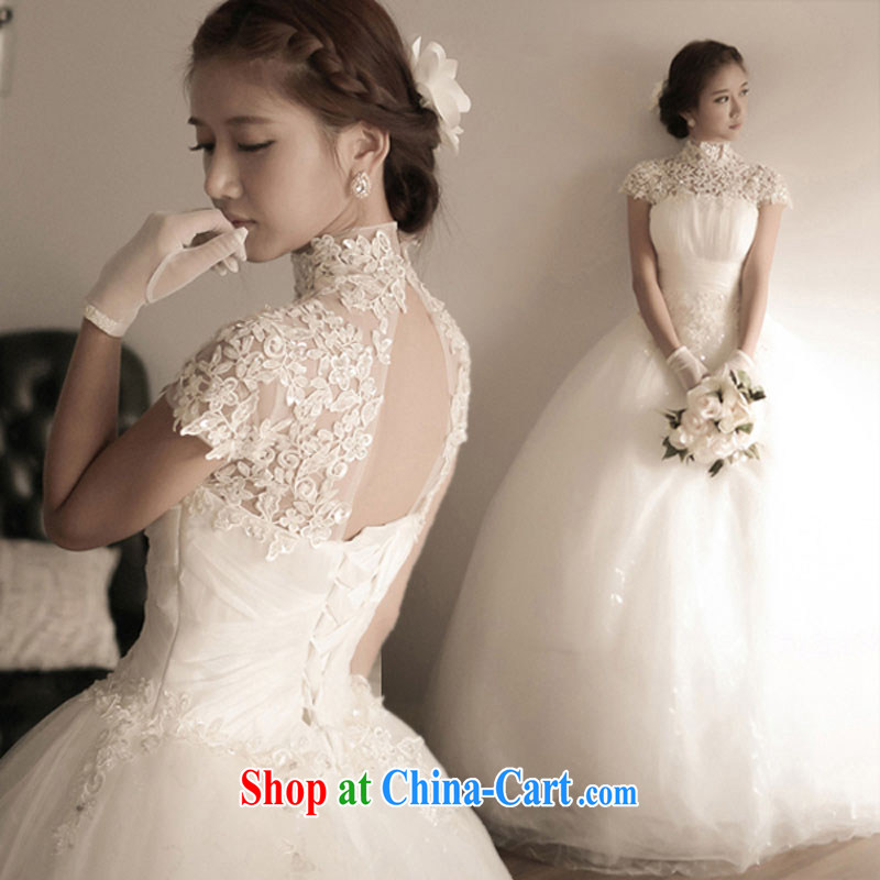 exclusive wedding dresses with dress, 2015 new summer short banquet dress dress girl bride toast wedding clothes fashion a Field shoulder white tailored final