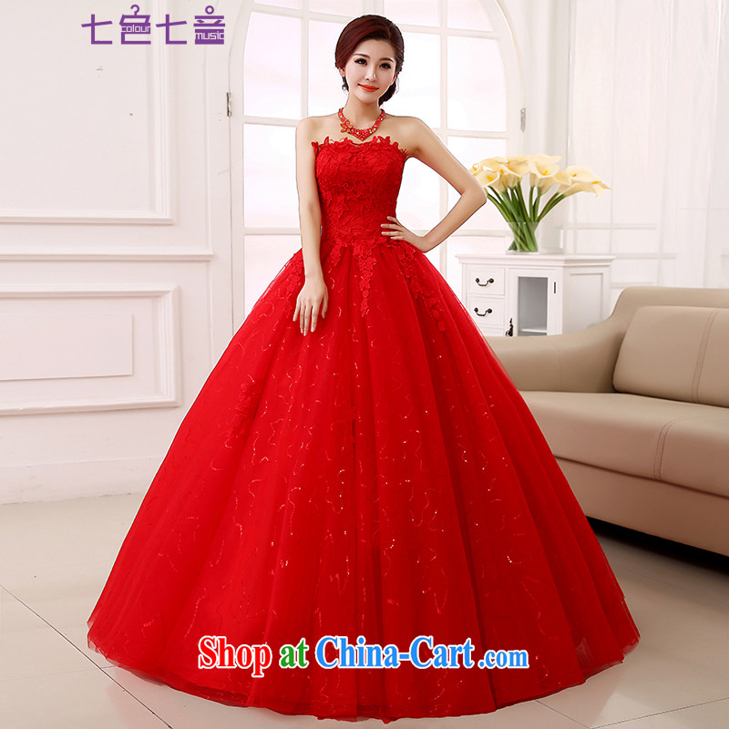 7 color 7 tone 2015 new summer marriages Korean Beauty graphics thin red erase his chest to tie wedding Code H 078 red tailored (final)