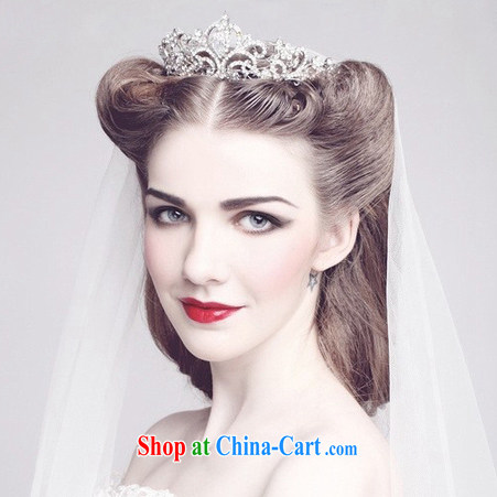 And Jacob his Korean bridal jewelry Crown earrings necklace 3-piece water drilling marriage yarn jewelry photo building head dresses accessories accessories silver pictures, price, brand platters! Elections are good character, the national distribution, so why buy now enjoy more preferential! Health