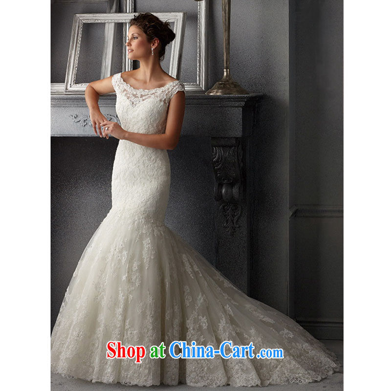 Pure bamboo love yarn 2015 bridal upscale Custom Field shoulder bare chest straps spring wedding dresses red stylish long-tail crowsfoot white luxury custom 7 day shipping