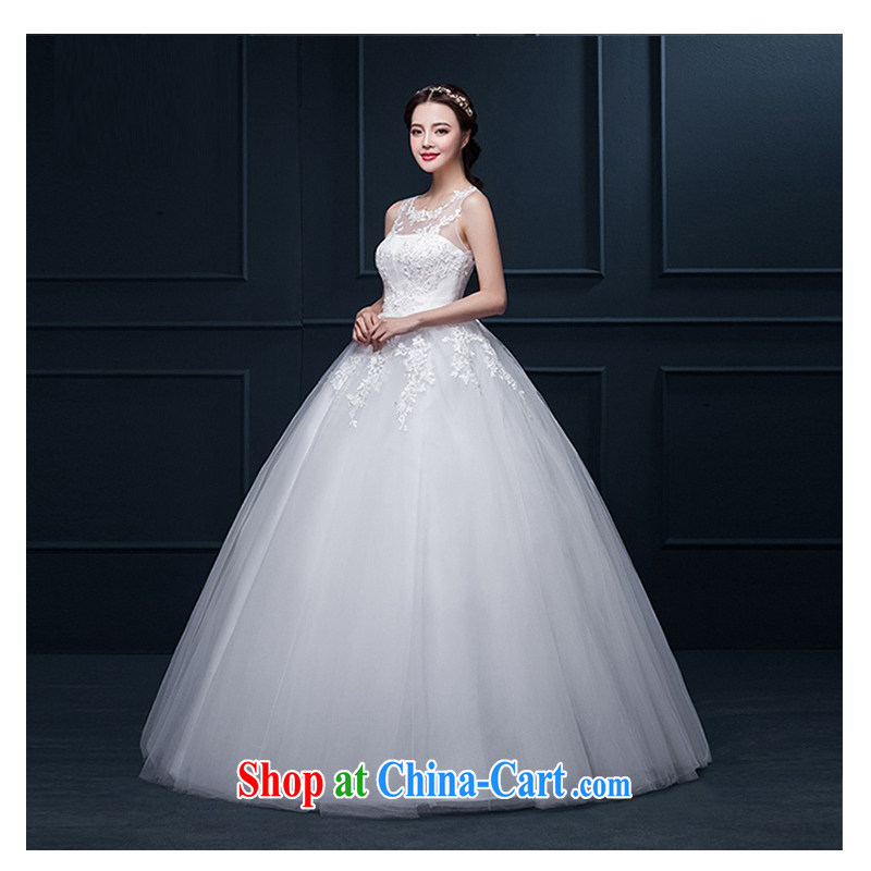 New 2015 autumn Korean version is also wiped chest lace beauty large code back exposed to align wedding white XXXL