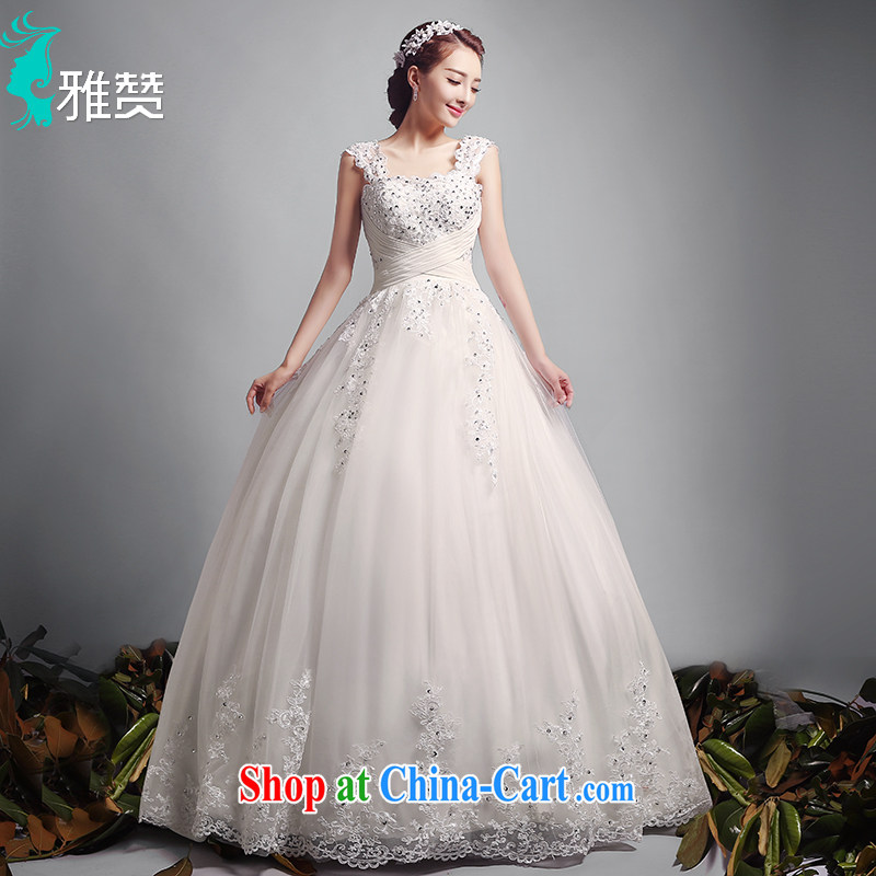 And Jacob his dual shoulder straps wedding dresses trailing summer 2015 new Europe video thin beauty marriages wedding canopy skirts with XXL paragraph