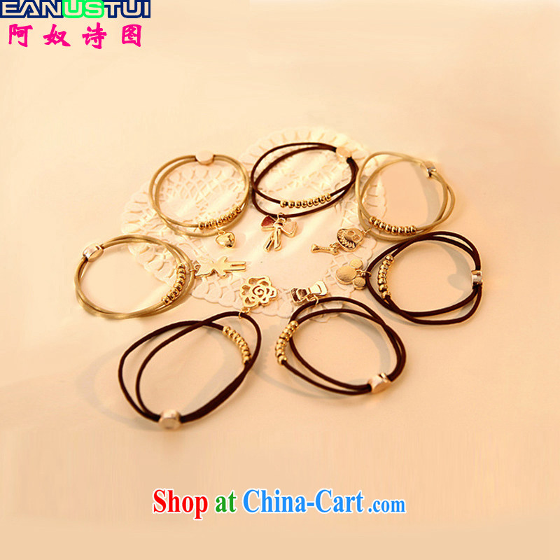 The slave poetry _EANUSTUI_ 2015 Korean card pendants Hand chain-ring-wedding A 5128 random gifts