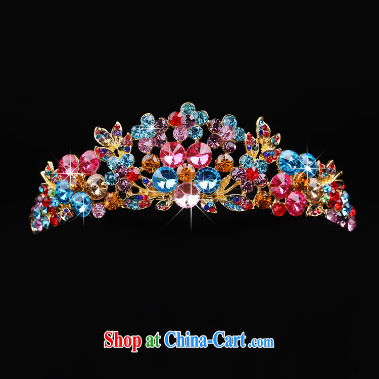 Time his bride's head-dress-trim Crown necklace earrings 3-piece kit color large screws that diamond jewelry hair accessories wedding wedding accessories jewelry Crown pictures, price, brand platters! Elections are good character, the national distribution, so why buy now enjoy more preferential! Health